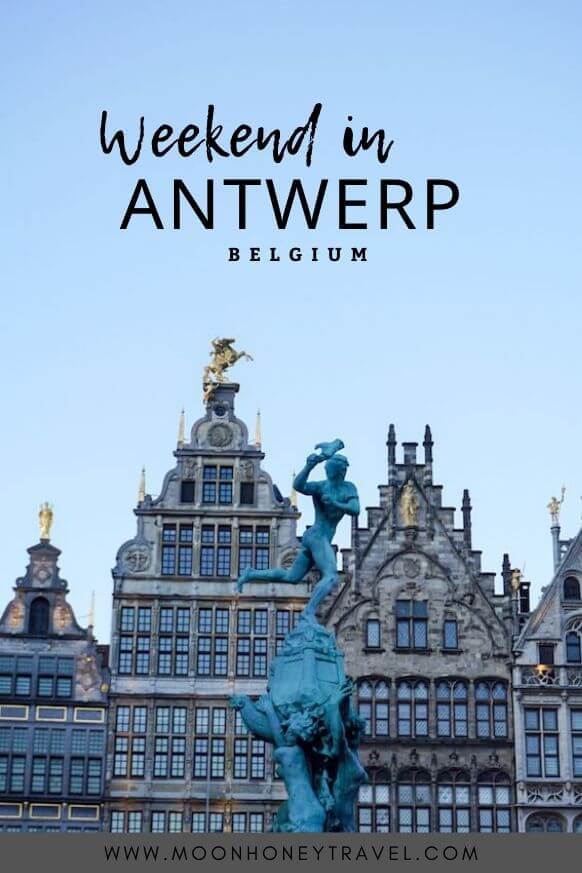 Antwerp in winter - a weekend guide: what to do, see and where to eat and stay