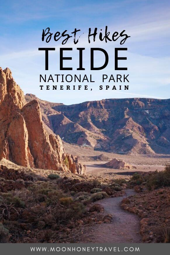 Teide National Park Hiking Trails, Tenerife, Spain