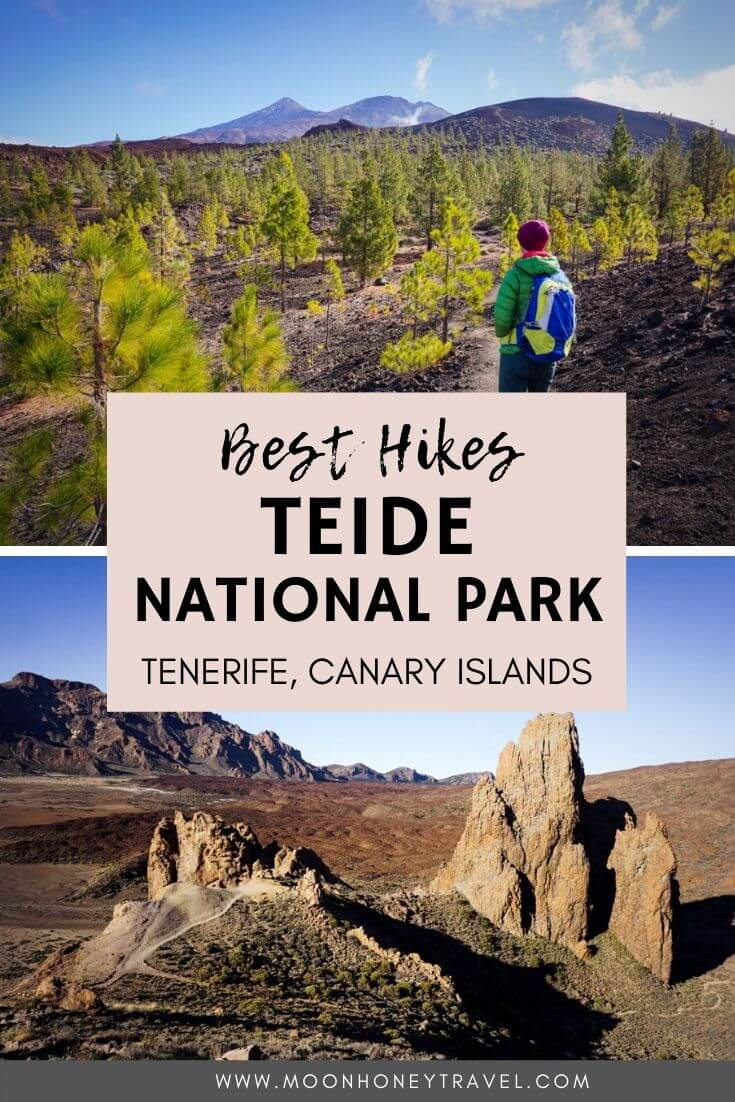 Hiking Teide National Park, Tenerife, Spain