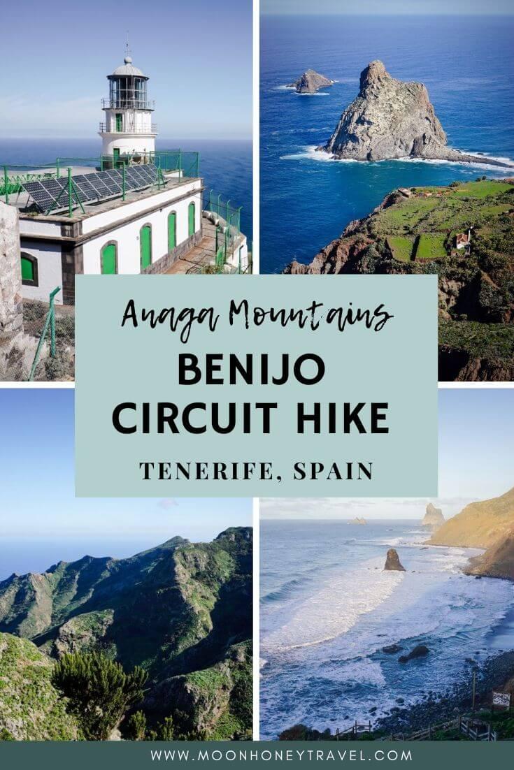 Benijo to Chamorga Circuit Day Hike, Anaga Coast, Tenerife