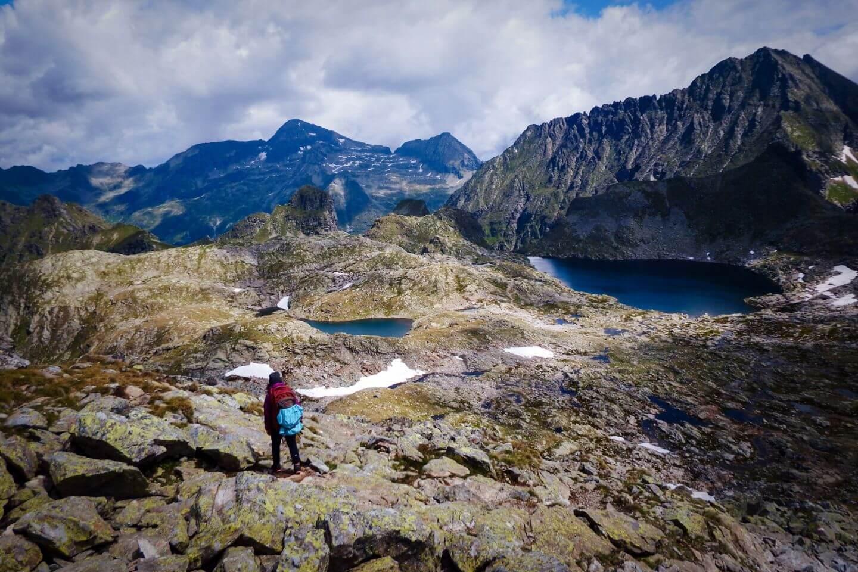 Klafferkessel, Schladminger Tauern High Trail