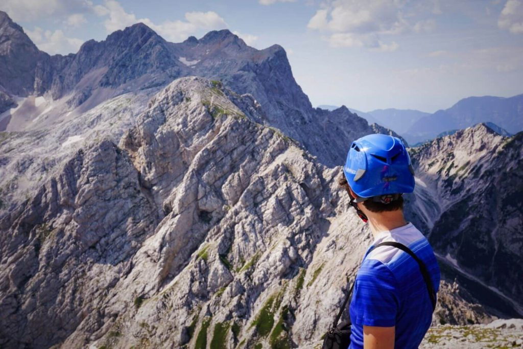 Kamnik Saddle, Kamnik-Savinja Alps, Hiking in the Slovenian Alps