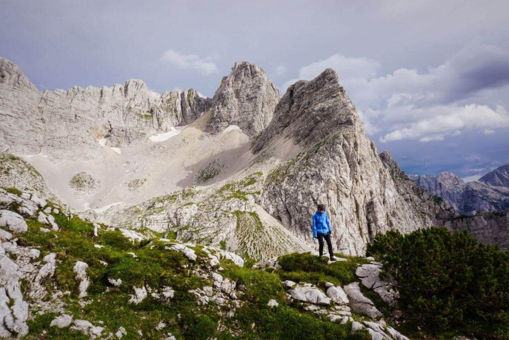 Kriških podih, Julian Alps, Hiking in the Slovenian Alps