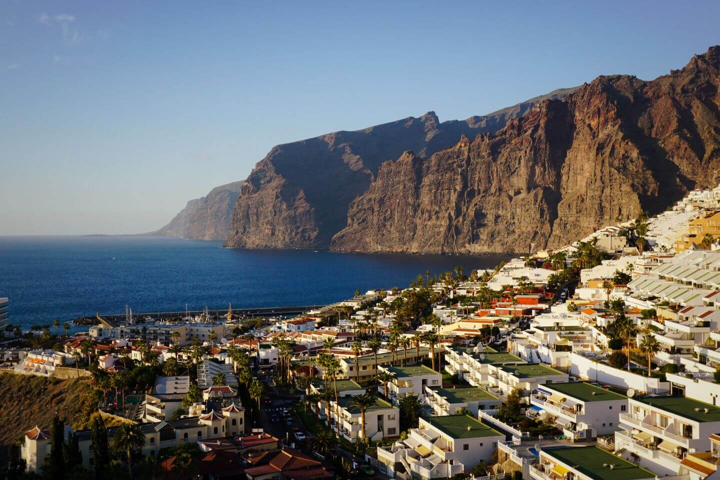Los Gigantes, Tenerife in January