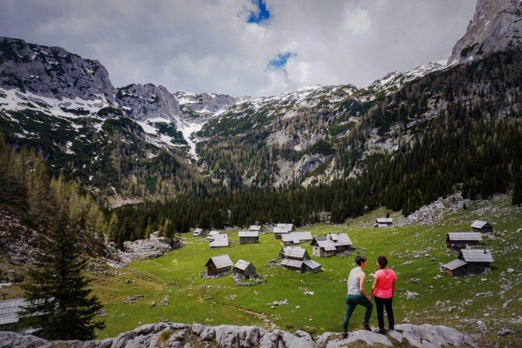 Planina v Lazu, Bohinj Alpine Pasture Loop, Julian Alps - Slovenian Alps Hiking Guide