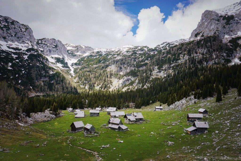 Planina v Lazu, Bohinj Alpine Pastures, Triglav National Park