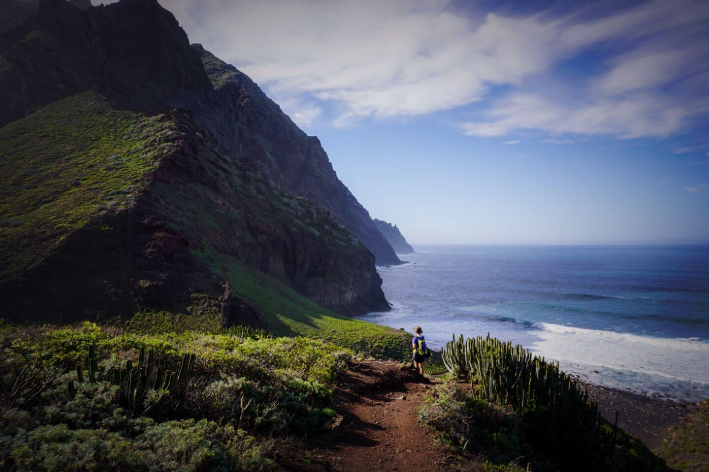Playa de Tamadite, Anaga Mountains, Where to Stay in Tenerife for Hiking, Canary Islands, Spain