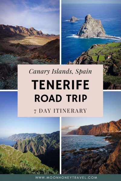 Tenerife Road Trip Itinerary