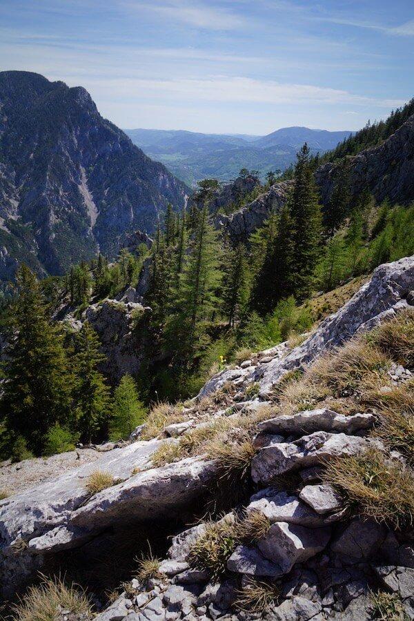 Camillo Kronichsteig, Brandschneide, Rax - Hiking near Vienna