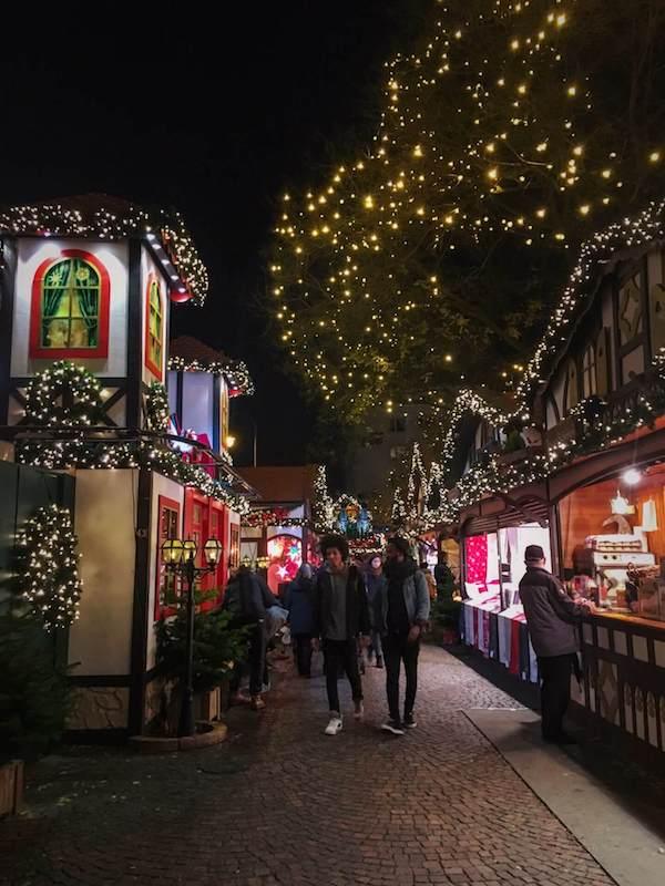 Rudolfplatz Christmas Market, Cologne in Winter