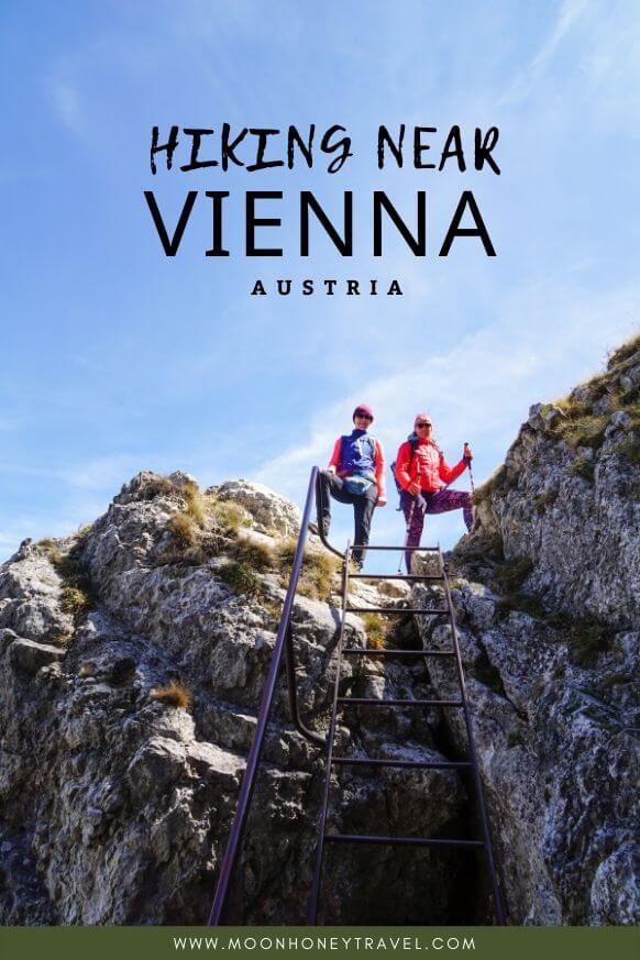 Hiking near Vienna, in the Vienna Mountains, Austria
