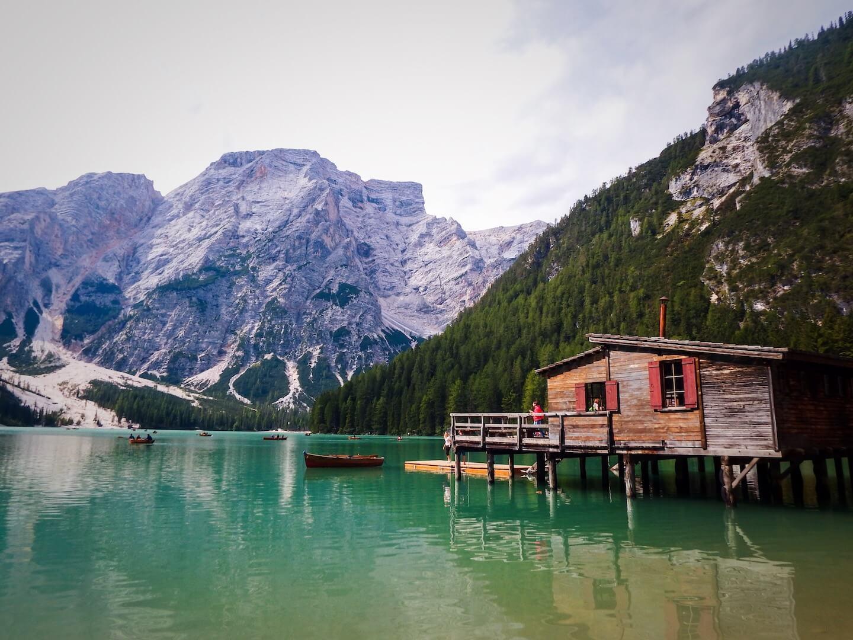 Alta Via 1 Trailhead: Lago di Braies