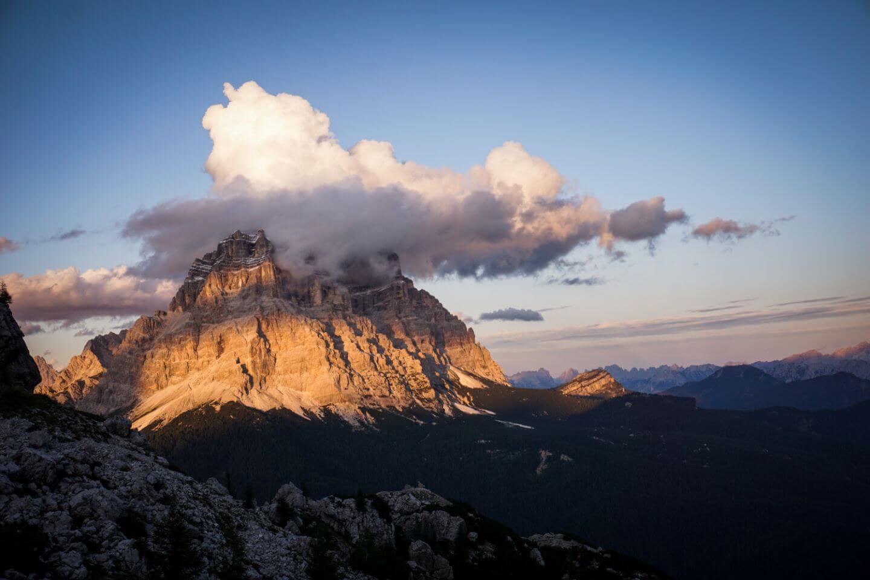 Pelmo, Alta Via 1 Hike, Dolomites