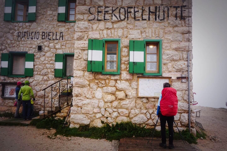 Rifugio Biella, Alta Via 1 Dolomites