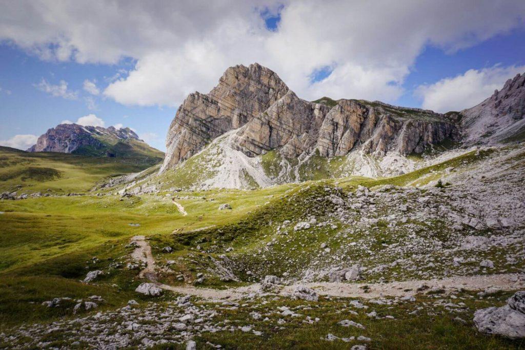 Alta Via 1 hut to hut route, Italian Dolomites