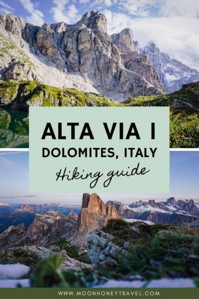 Alta Via 1 Dolomites Hiking Guide