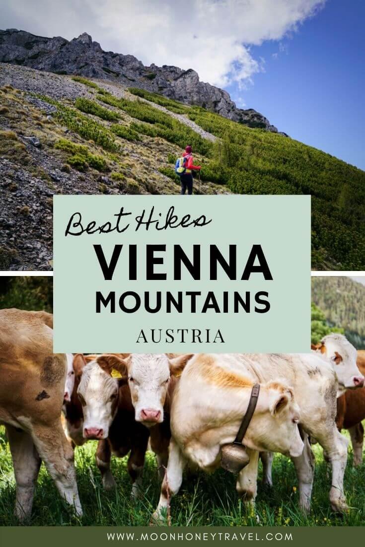Best Hikes near Vienna in the Vienna Mountains, Austria