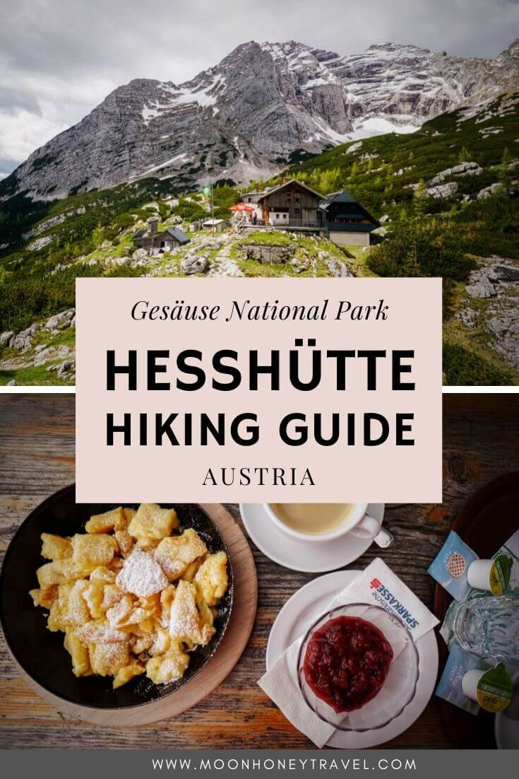 Hesshütte Hiking Trails, Gesäuse National Park, Austrian Alps, Austria