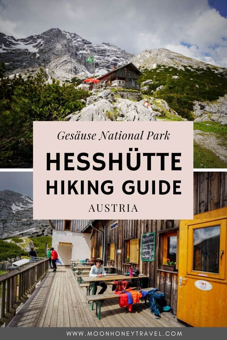 Hesshütte Hiking Trails, Gesäuse National Park, Ennstaler Alps, Austria