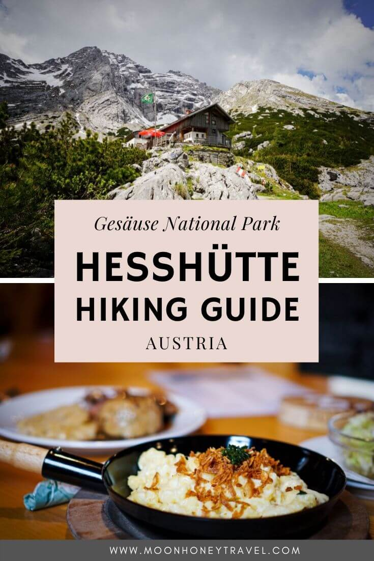 Hesshütte Hiking Trails, Gesäuse National Park, Austria
