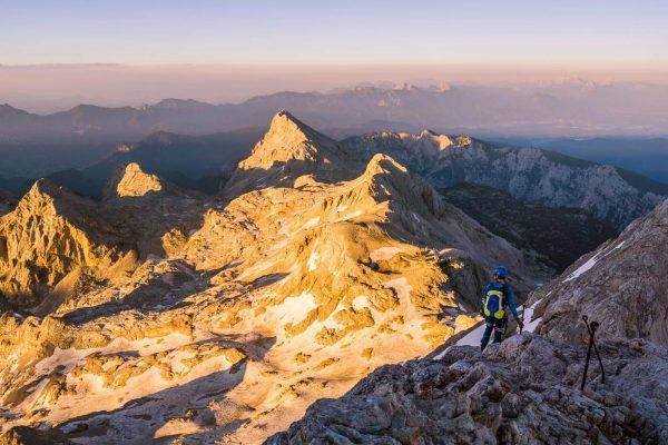 Mount Triglav Via Ferrata Route, Triglav National Park, Slovenia