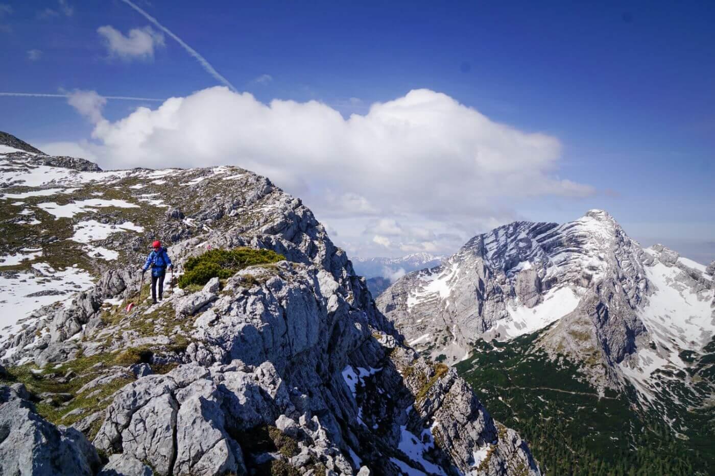 Zinödl Ridge, Gesäuse National Park, Austria
