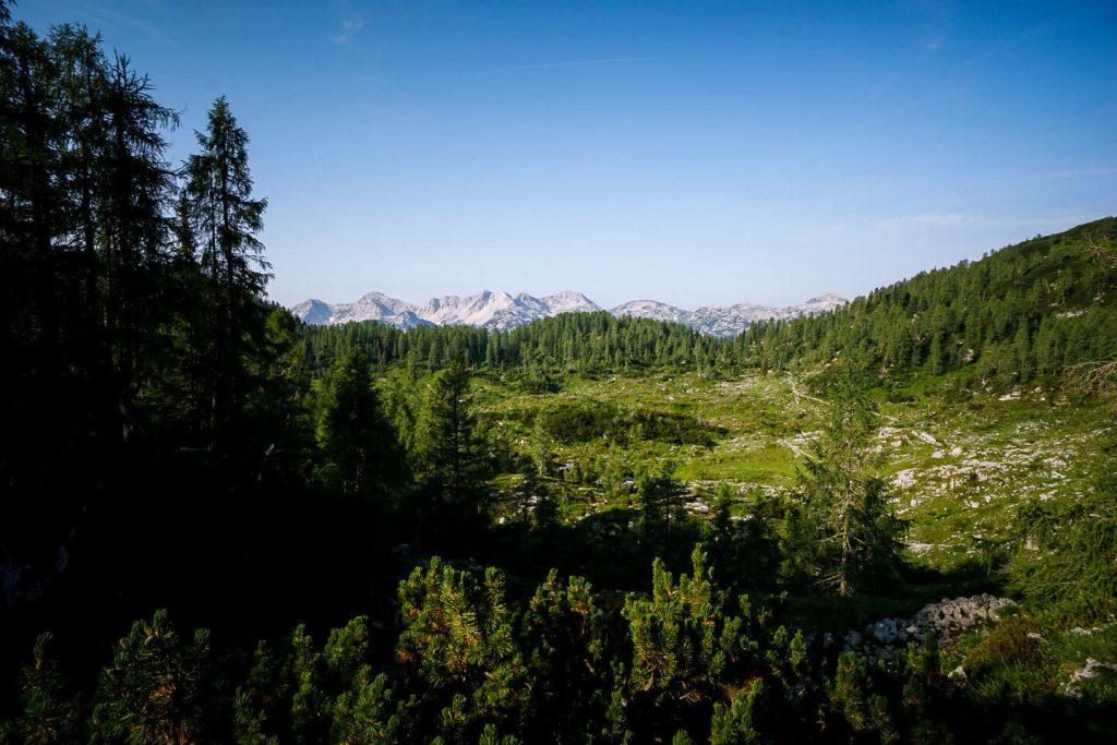 Southern Julian Alps and Planina Ovčarija, Slovenia