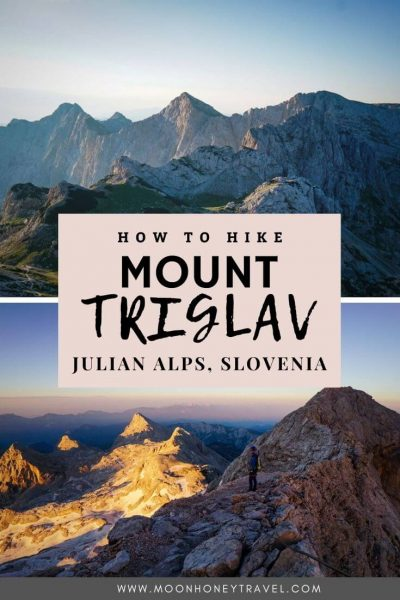 Climbing Mount Triglav the Easy Way