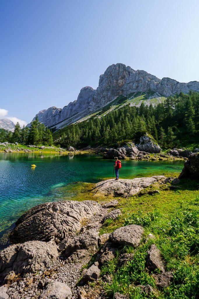 Double Lake, Seven Lakes Valley, Slovenia