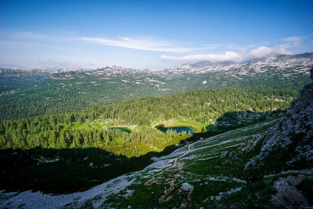 Štapce to Double Lake, Triglav Lakes Valley, Slovenia