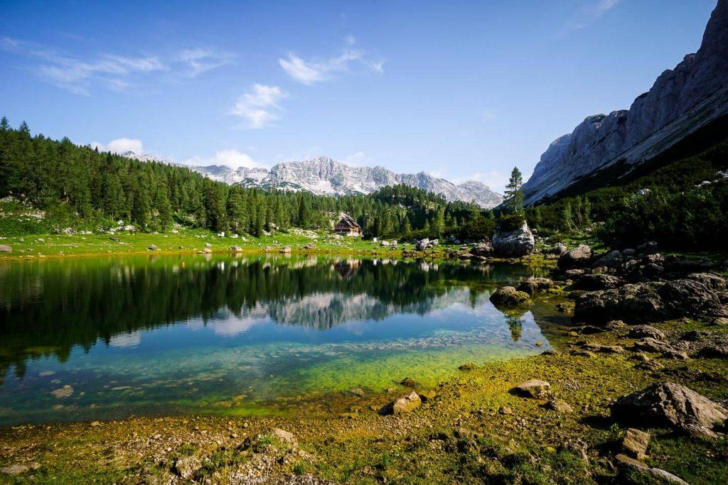 Dvojno Jezero (Double Lake), Triglav Lakes Valley, Slovenia