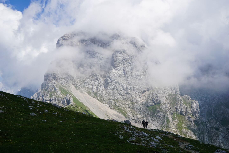 Kamnik Saddle, View of Planjava
