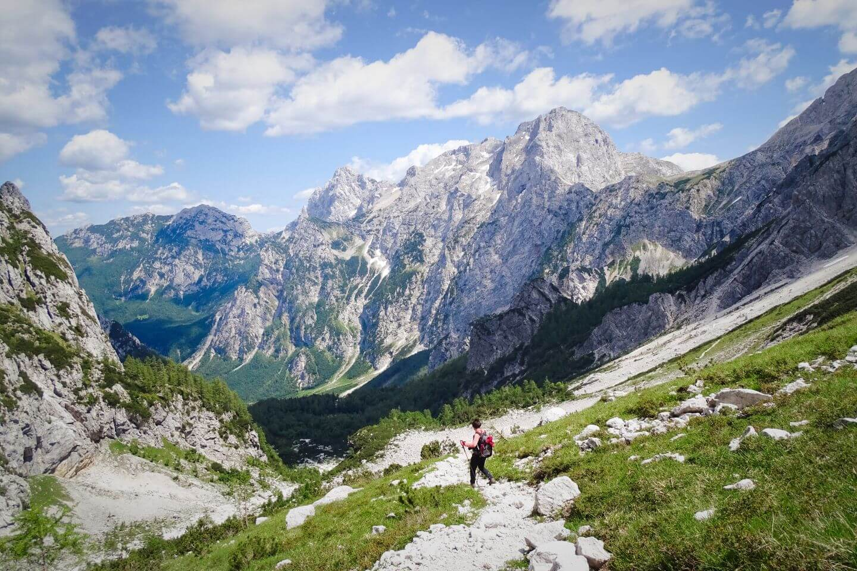 Ledinski Vrh to Logar Valley, Kamnik-Savinja Alps, Slovenia