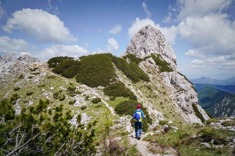 Jezersko Saddle to Ledinski Vrh, Logar Valley Day Hike