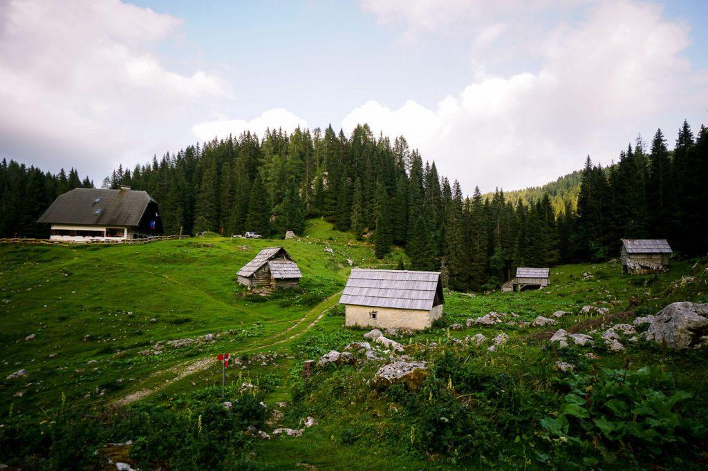 Koča na Planini pri Jezeru, Julian Alps, Slovenia