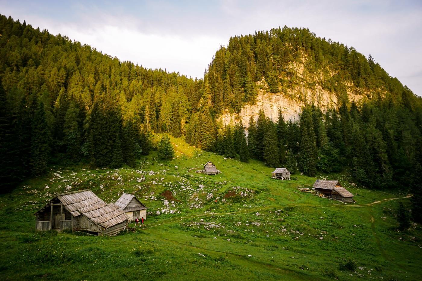 Planini Pri Jezeru, Julian Alps, Slovenia