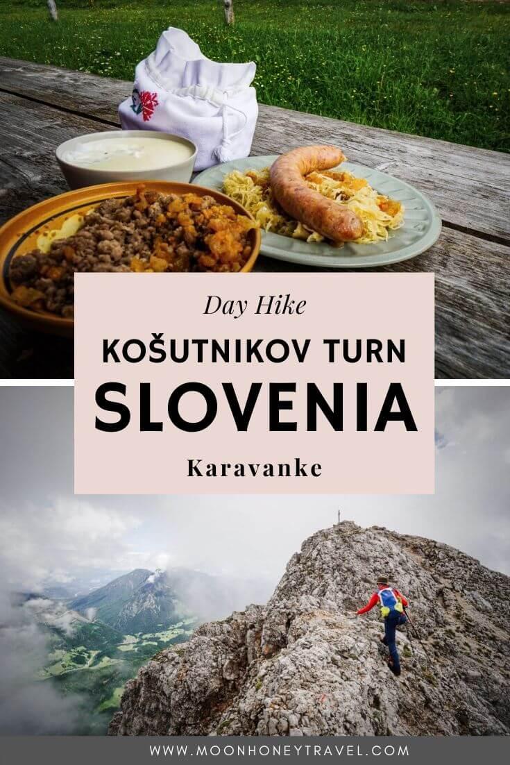 Hiking to Planina Dolga Njiva and Košutnikov Turn, Karavanke