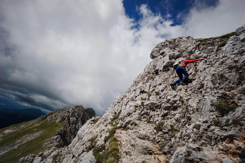 Hike to Košutnikov Turn (Koschutnikturm), Karavanke Mountains, Slovenian Alps