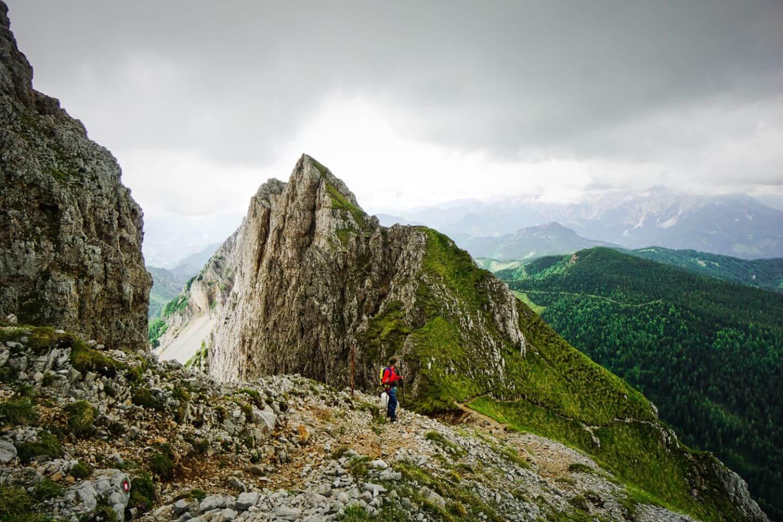 Košutnikov Turn / Koschutnikturm Hike, Karawanken, Slovenia