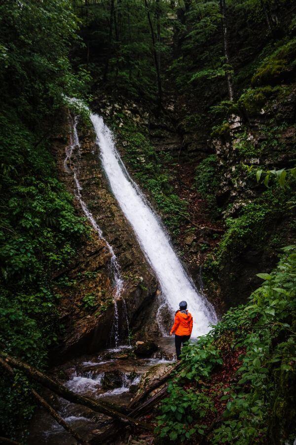 Koseč Gorge, Kobarid