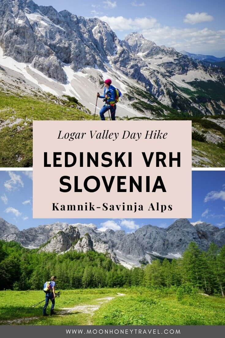 Ledinski Vrh Peak Hike, Kamnik-Savinja Alps, Slovenia - Logar Valley Day Hike