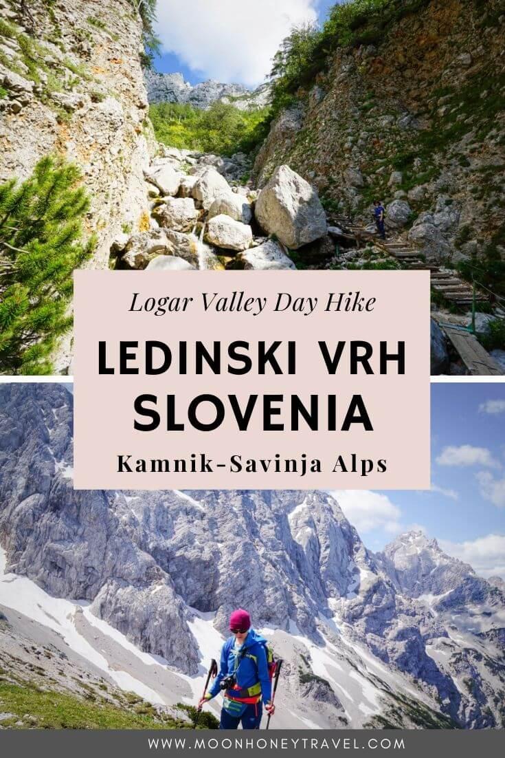 Ledinski Vrh Peak Hike, Kamnik-Savinja Alps, Slovenia