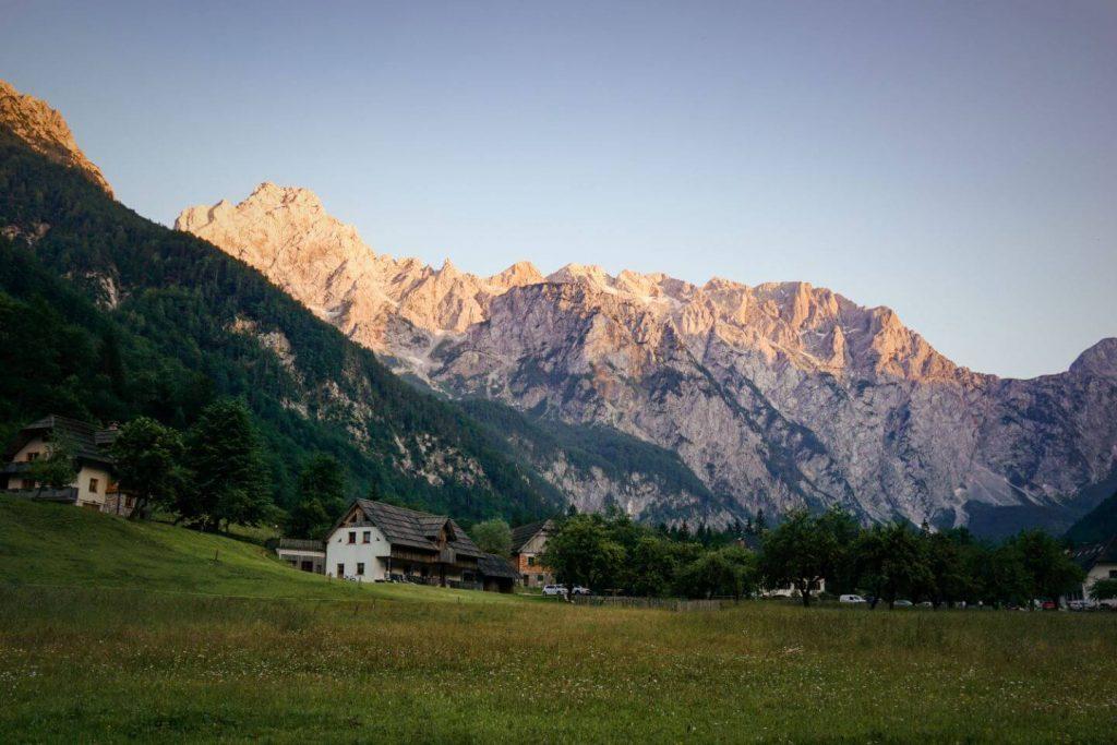 Logar Valley, Kamnik-Savinja Alps, Slovenia