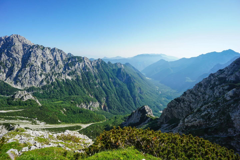 Views of Logar Valley, Kamnik-Savinja Alps