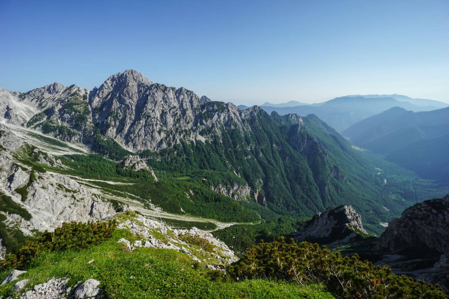 Hiking above Logar Valley, 5 Days in Slovenia