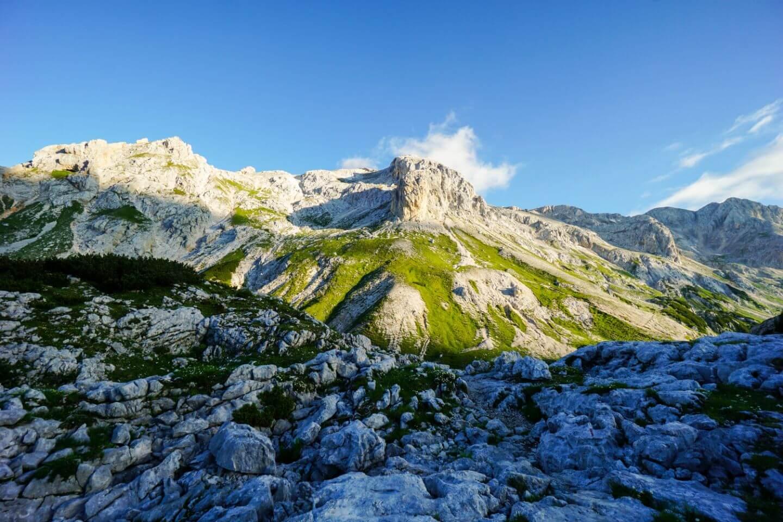 Vodnikov Dom to Dom Planika, Triglav southern ascent route