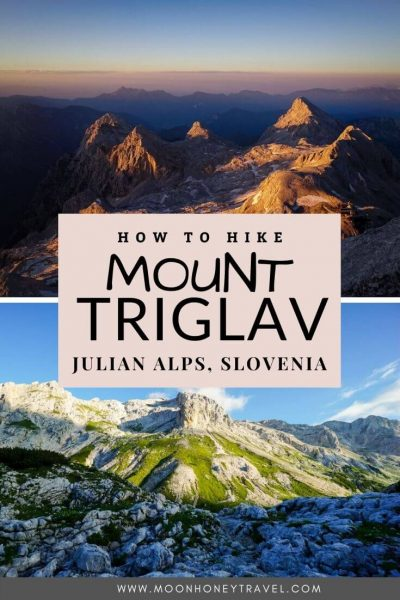 How to Hike to Mount Triglav the Easy Way, Southern Route from Pokljuka