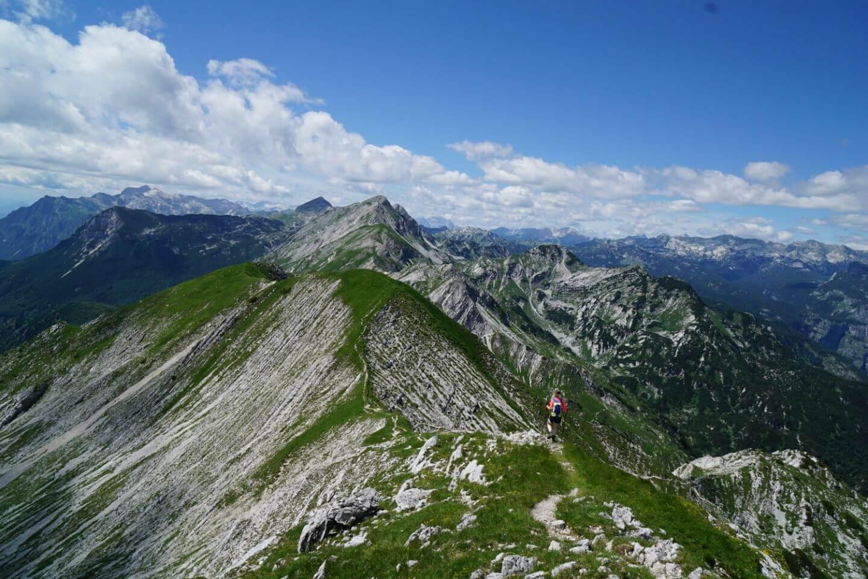 Mount Vogel, Slovenia, Day Hike from Lake Bohinj
