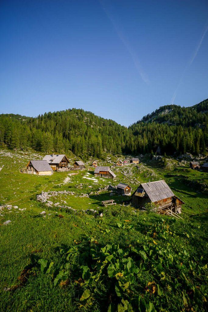 Planina Dedno Polje, Julian Alps, Slovenia