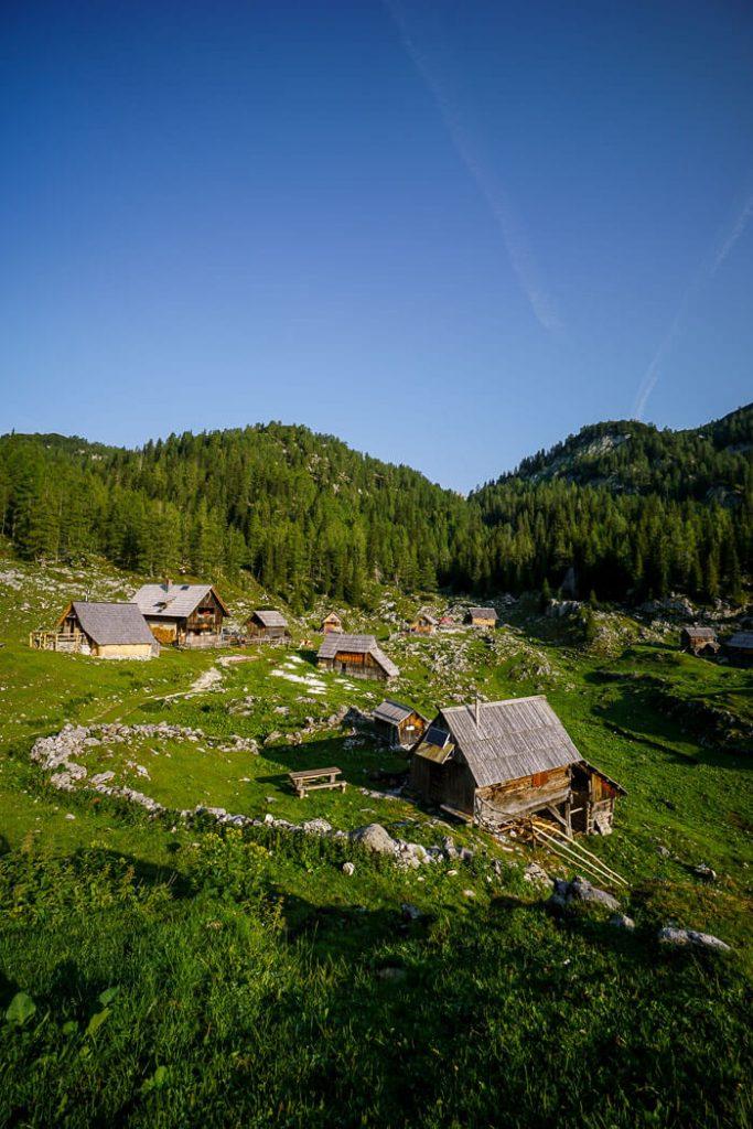 Planina Dedno Polje, Triglav National Park, Slovenia